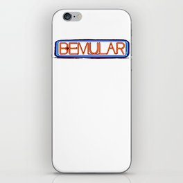 Bemular logo iPhone Skin