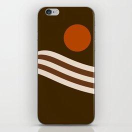 Swell - Cocoa Stripes iPhone Skin