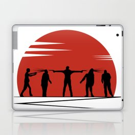 Zombie Controol (Moon headshot) Laptop & iPad Skin