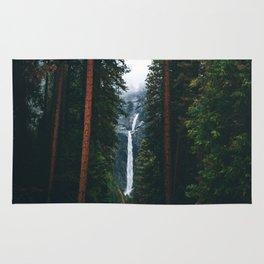 Yosemite Falls - Yosemite National Park, California Rug