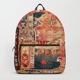 Konya Central Anatolian Niche Rug Print Backpack
