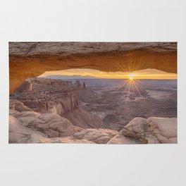 Sunrise at Mesa Arch Rug