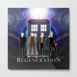 The Doctor Of Regeneration Metal Print