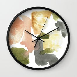 Great New Heights Abstract Wall Clock