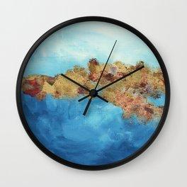 Your Golden Reflecton Wall Clock