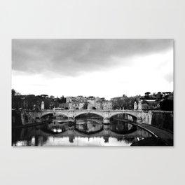 Sant'Angelo Bridge Canvas Print