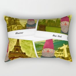 The fate of the gnome Rectangular Pillow