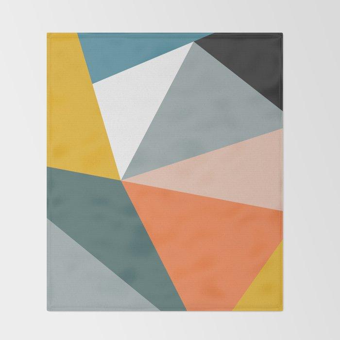 Modern Geometric 33 Throw Blanket