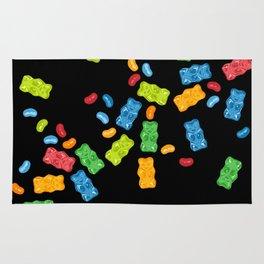 Jelly Beans & Gummy Bears Explosion Rug