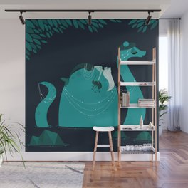 Nessie Wall Mural