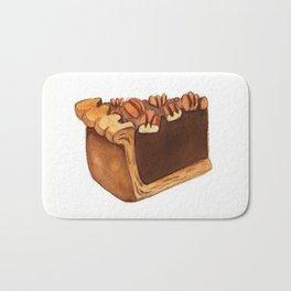 Pecan Pie Slice Bath Mat