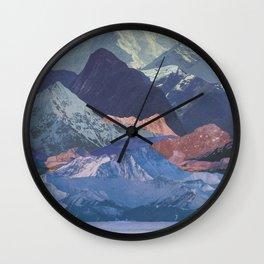 Rainbow Ranges Wall Clock