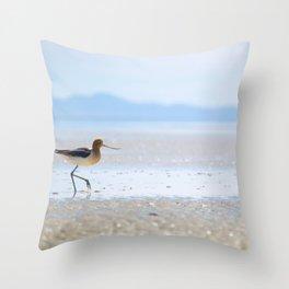 Avocet Throw Pillow