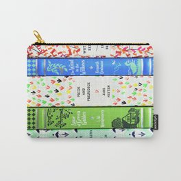 Pretty Book Stack - Part 1 Carry-All Pouch