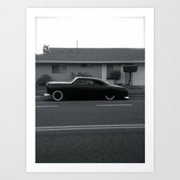 Black and White Chop Top Art Print