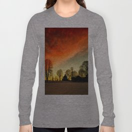 Dramatic Sunset Long Sleeve T-shirt