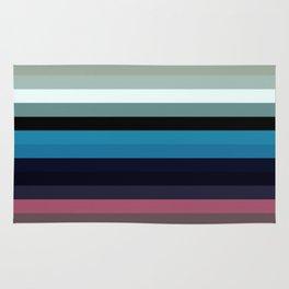 Les lignes de couleurs 03 Rug