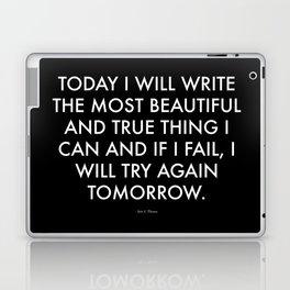 """Beautiful"" Text Laptop & iPad Skin"