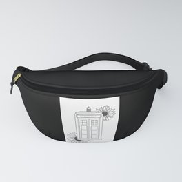 Doctor Who Tardis Illustration Design Fanny Pack
