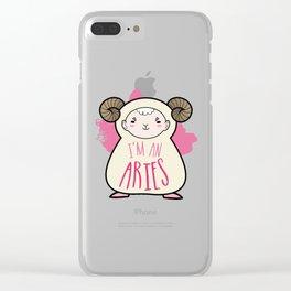 I'm an Aries Clear iPhone Case