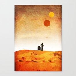 New Hope Minimalist Design Canvas Print