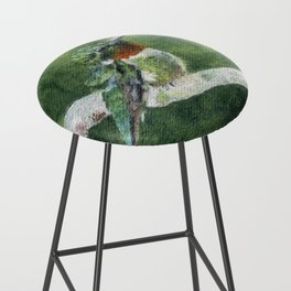Romeo the Hummingbird by Teresa Thompson Bar Stool