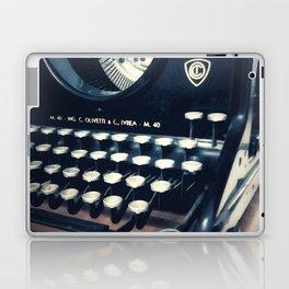 Ye Olde Italian Typewriter. Laptop & iPad Skin