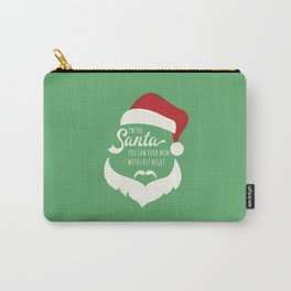 I saw mommy kissing Santa Clause Carry-All Pouch