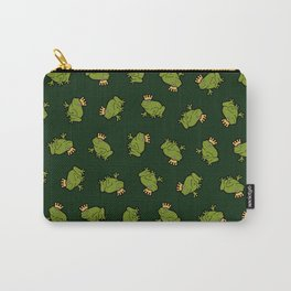 Frog Prince Pattern Carry-All Pouch