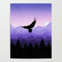 Eagle Skyline Poster