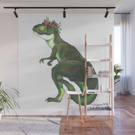 Pretty T-Rex Wall Mural