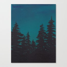 Night is Falling Canvas Print