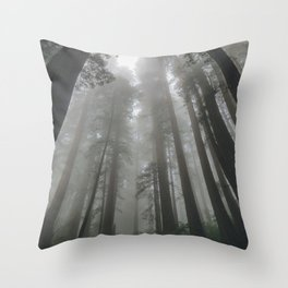 Cloud Sweepers Throw Pillow