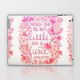 Little & Fierce – Pink Ombré Laptop & iPad Skin