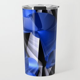 3D abstraction -03a- Travel Mug