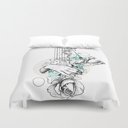 Our Positive Eaten Duvet Cover