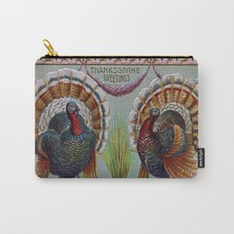 Thanksgiving Greetings 1906 Carry-All Pouch