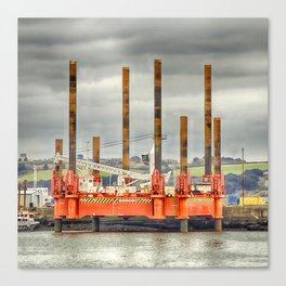 Wavewalker In Falmouth, Cornwall Canvas Print