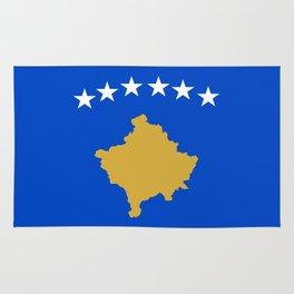Kosovo country flag Rug