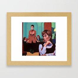 The Girls Framed Art Print
