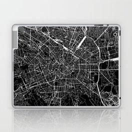 Milan Black Map Laptop & iPad Skin