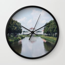 Paris, France Travel Photography Vintage Retro in stock 7 x 10 Fine Art Photography Dreamy Wall Clock