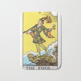 00 - The Fool Bath Mat
