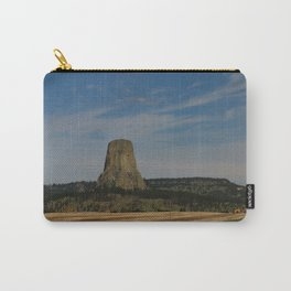 Road To Devils Tower Carry-All Pouch