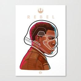 R E B E L Canvas Print