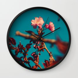 Sakura tree Wall Clock