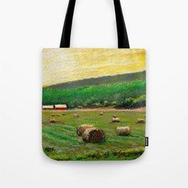 Sun Field Tote Bag
