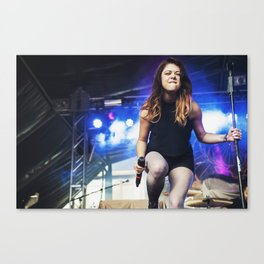 Tay Jardine (We Are The In Crowd) Canvas Print