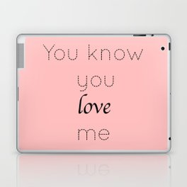 Gossip Girl: You know you love me - tvshow Laptop & iPad Skin