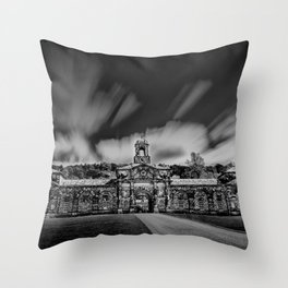 Chatsworth stables Throw Pillow